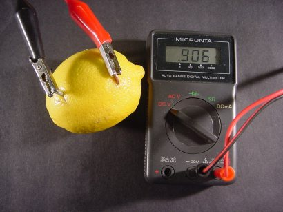 Make Your Own Lemon Battery