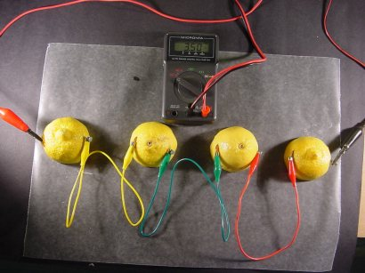 Make Your Own Lemon Battery