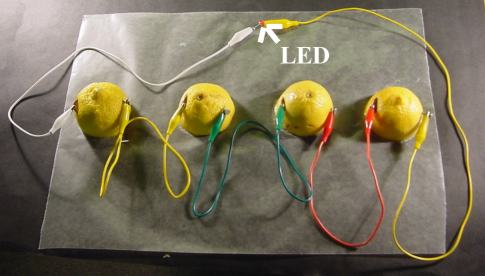 make your own lemon battery rh quantumbalancing com Series vs Parallel Battery Wiring Diagrams Wiring Can Lights in Series